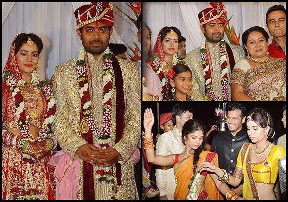 Tanisha and armaan wedding bands
