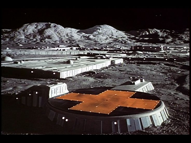 Moonbase Alpha from SPACE: 1999