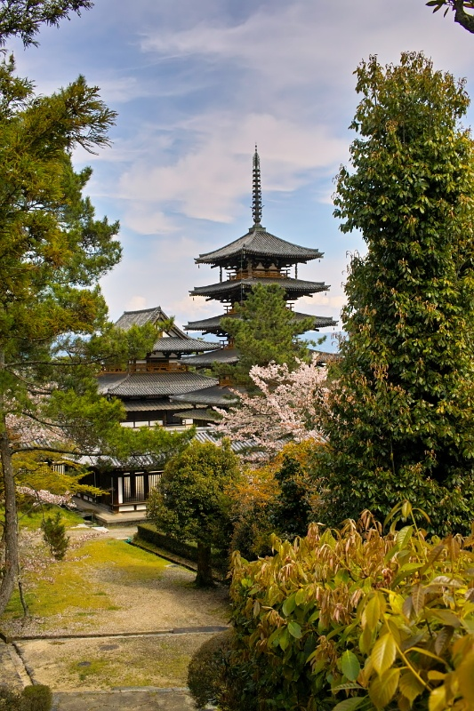 Tempelcomplex Horyuji  NARA-periode #Japan