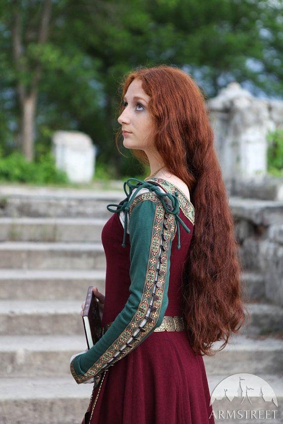 Medieval Wool Dress Sansa limited custom dress por armstreet