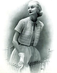 Free Vintage Crocheted Bolero Pattern