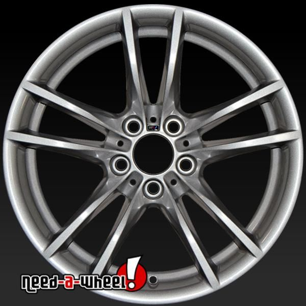 "2015-2017 BMW M Series oem wheels for sale. 18"" Silver stock rims 86091 https://www.need-a-wheel.com/rim-shop/18-bmw-m-series-oem-wheels-rims-silver-86091/, , #oemwheels, #factorywheels"