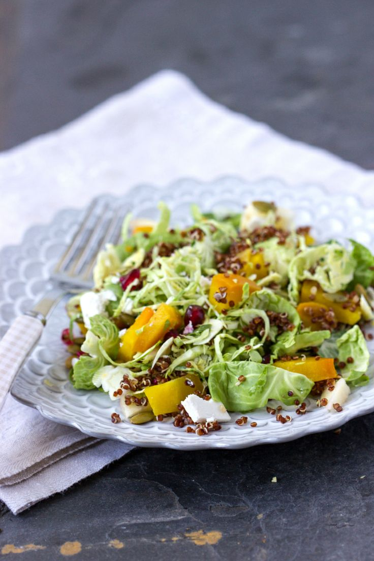 Winterse quinoasalade met bietjes en spruitjes ♥ Foodness - good food, top products, great health