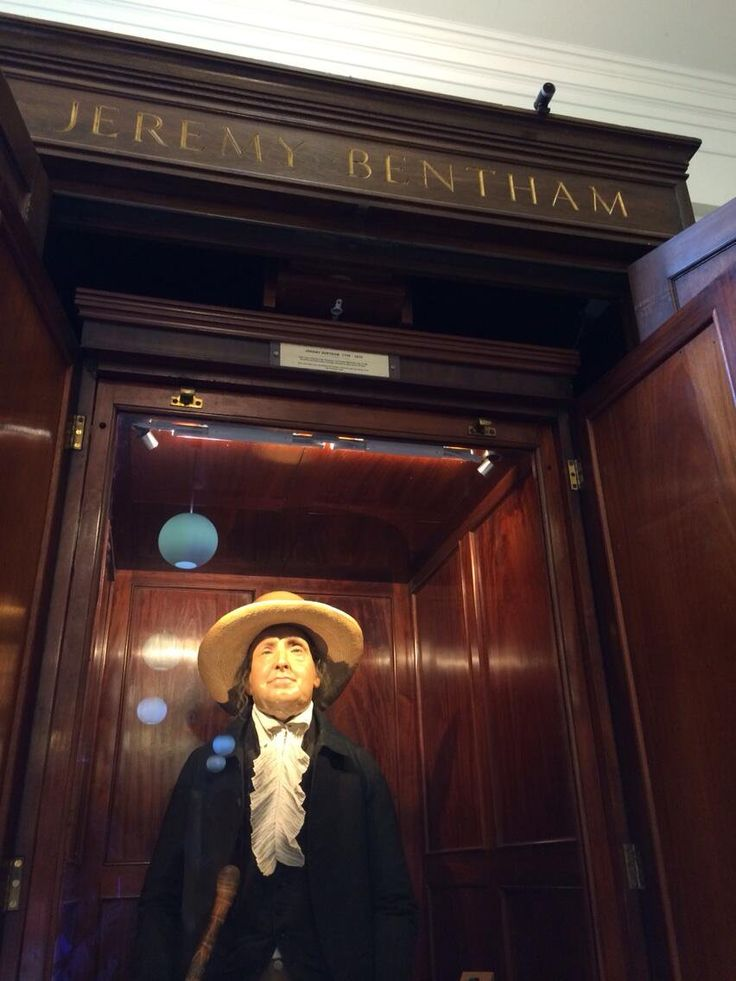 """Cam now on top of Jeremy Bentham..."""