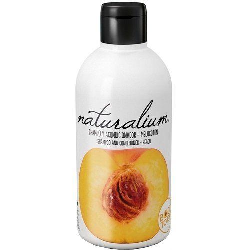 Naturalium Plaukų šampūnas ir kondicionierius, persikų kvapas 400 ml