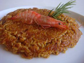 ARROZ SOCARRAT DE GAMBAS Y SEPIA ~ The Spanish Food