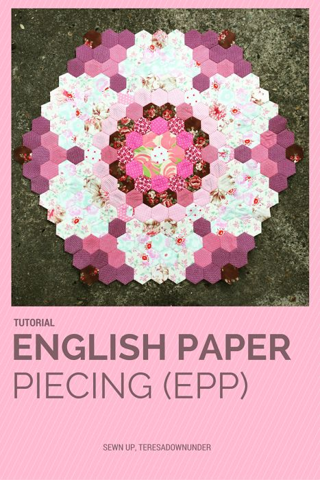 English Paper Piecing Isn't Just for Hexagons