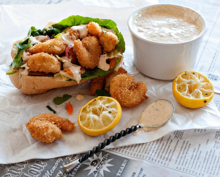 Shrimp Po Boy recipe created with our Smokey Mesquite Mustard by ...