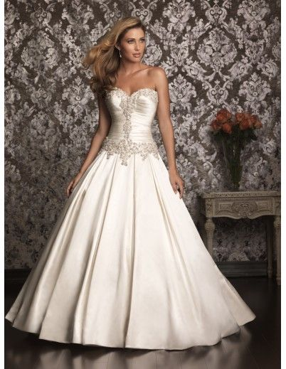 I LOVE this dress!!:) Sooo Gorgeous!!:))  Allure 9003 Strapless Wedding Dress :: Margene's Bridal