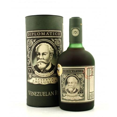 Ron Diplomatico Reserva Exclusiva Rum 12 år 40% 70cl - Rom fra Venezuela