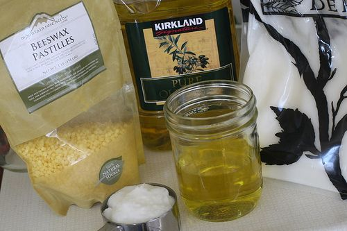 Easy Beeswax lotion:  I've been using this for a while and love it.  It works better than any store bought lotion.  Time for a second batch!