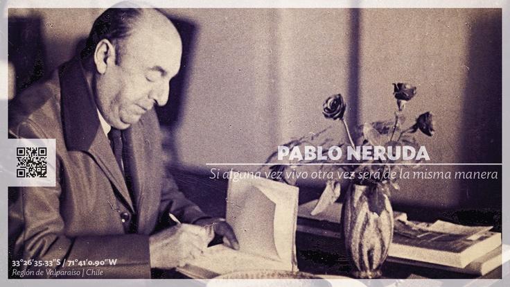 Homenaje al poeta chileno Pablo Neruda en su natalicio 108° www.thisisChile.cl
