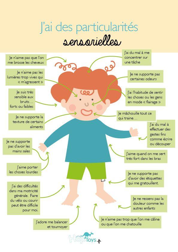 Les modalités sensorielles permettent à l'être humain d'appréhender son environnement dès la vie intra-utérine. Plus tard, ce que nous pensons du monde correspond à la façon dont nous le ressentons et le percevons. Or, nous n'avons pas tous les mêmes profils sensoriels. Certains d'entre nous sont plussensibles ou sensibles différemment. Ils ont des particularités sensorielles. …