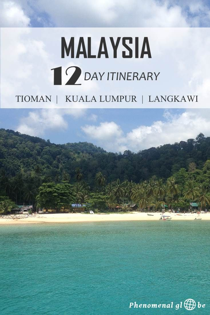 A detailed 12 day itinerary & travel map with everything you need to know about getting around in Malaysia when you are visiting Tioman, Kuala Lumpur and Langkawi.                                                                                                                                                                                 Mais