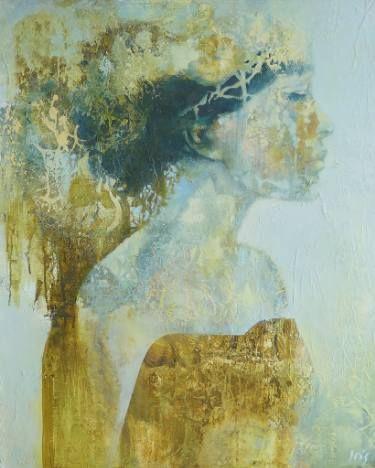 "Saatchi Art Artist Iris Schreven; Painting, ""Queen for a day"" #art"