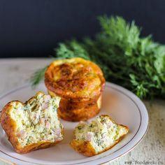 food geek: Мини-омлеты с ветчиной, сыром и зеленью
