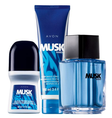 ITEM!!! Visit my website for details www.youravon.com/chapo Musk Marine 3-Piece Casual Cool Collection