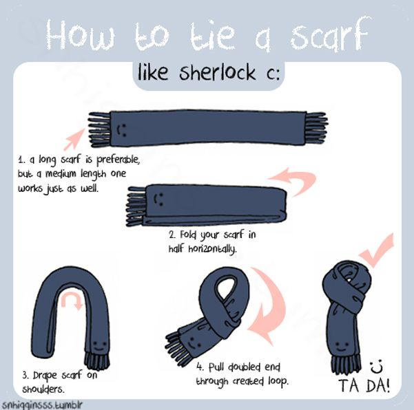 If you wanna look like Sherlock! | Sherlock Scarf Guide | @SNHigginsss.deviantart.com