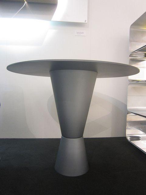 #arbat table blue anodized, design by Marco Piva for #altreforme, #district collection at Salone del Mobile 2011 #interior #home #decor #homedecor #furniture #aluminium
