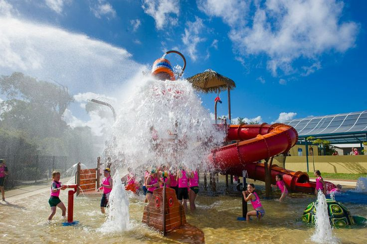 The #Vortex #Splashpad aptly named the Sapphire Soaker at Discovery Holiday Parks Pambula Beach will open on the 12th of December. http://vortexaquaticplaygrounds.com.au/gallery/discovery-holiday-park-pambula-beach