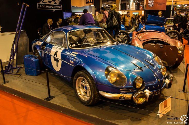#Alpine #A110 au salon Retromobile à #Paris Reportage complet : http://newsdanciennes.com/2016/02/08/grand-format-retromobile-2016/ #Vintage #VintageCar