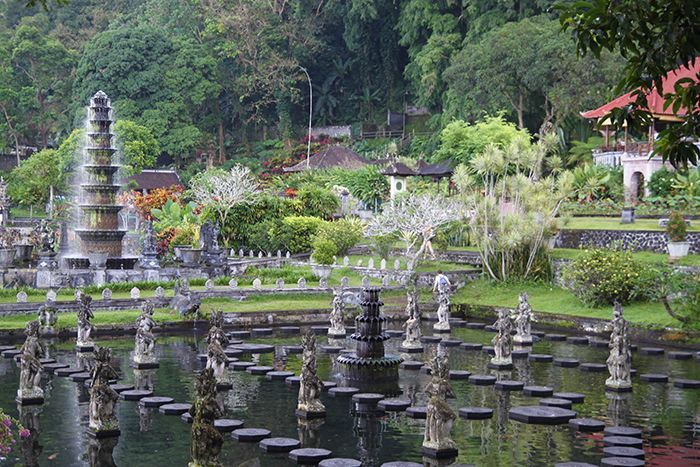 Tirtagangga Water Palace Bali, Indonesia