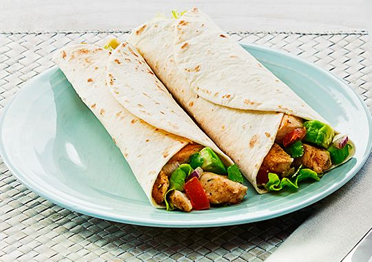 Cajun Chicken Tortillas