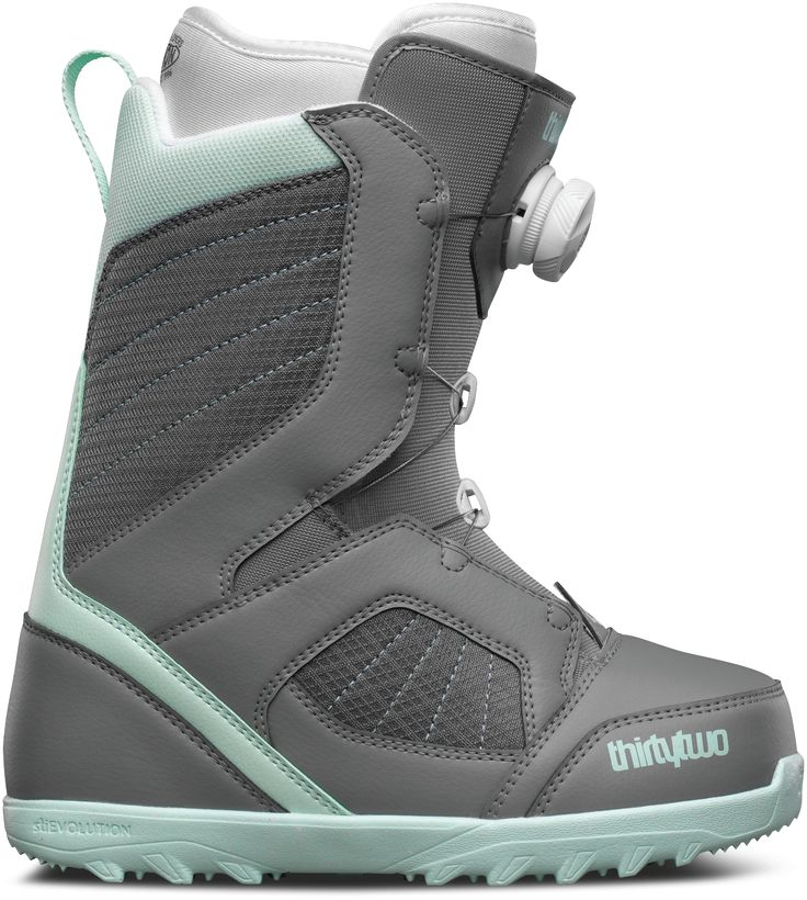 ThirtyTwo Women's STW BOA Snowboard Boots - Grey (2017)