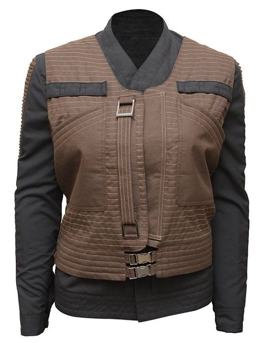 Star Wars Rogue One Jyn Erso Womens Jacket with Vest