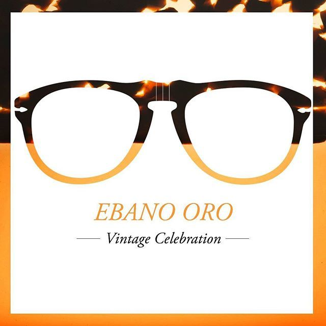 Gold and black wood meld to color Ebano Oro styles from our #VintageCelebration Collection#BardiFotoOttica