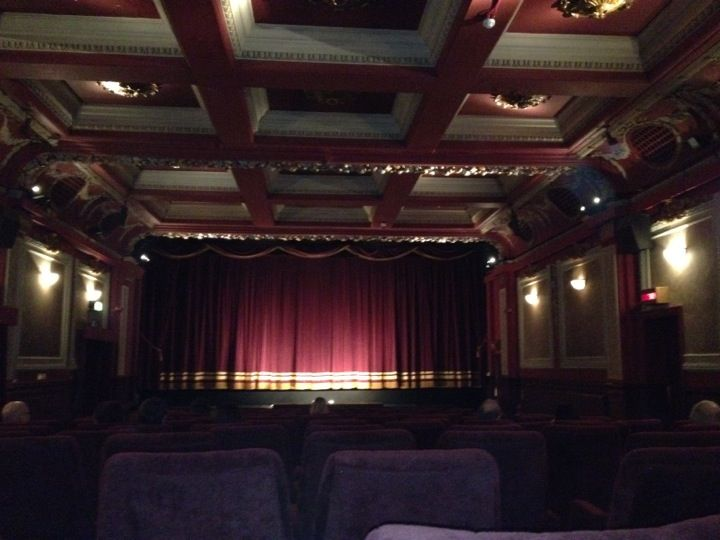 The Gate Cinema (Notting Hill, London, UK) : Elegant Edwardian Cinema.  Nazi bombs destroyed the front facade of the building, but the sumptuous interior remains.