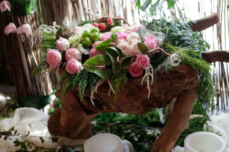 #Floral #Art by #Metaxa Avgi...I LOVE this!!
