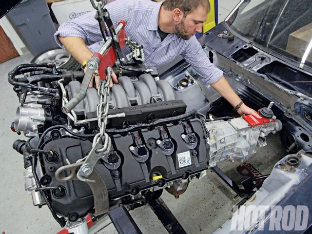 Ford Coyote Engine Swap Guide: Only Three Years Old, Ford's 5.0L DOHC, TI-VCT Engines Have Already Found Homes in Everything From Street Rods to Muscle Cars. Here's What it Takes to Get 'er Done.
