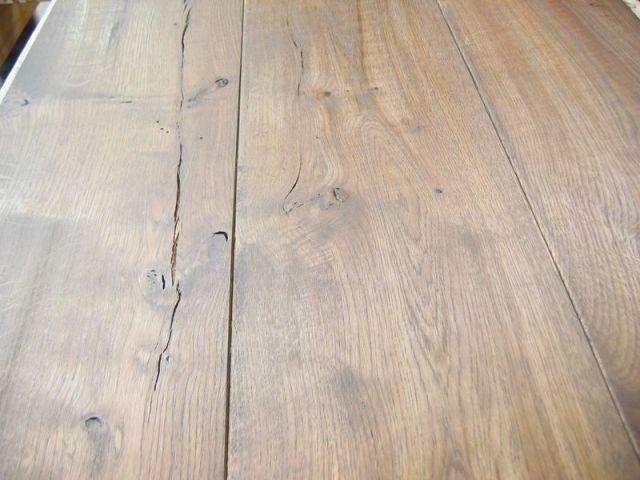 Verouderde eiken houten vloeren en parket in Harderwijk Gelderland, Utrecht en Flevoland
