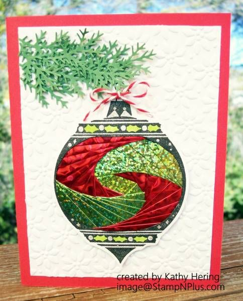Iris folded ornament by jellychick - Cards and Paper Crafts at Splitcoaststampers