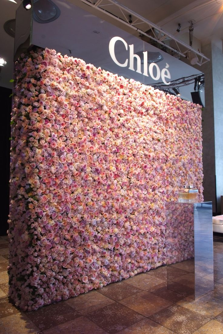 Chloe Flower Wall by @azbcreative