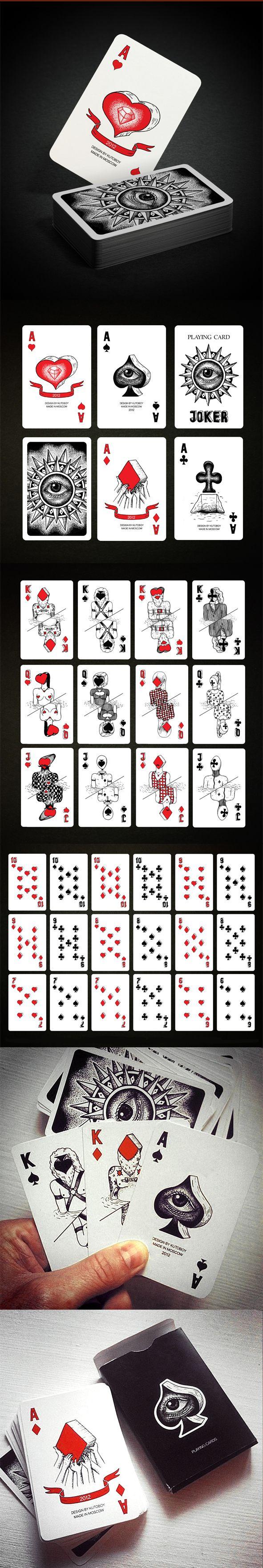 Игральные карты Иллюстрация © Илья Кутовой