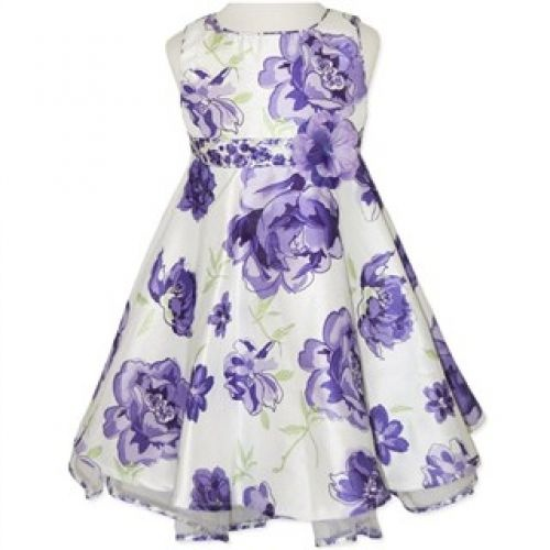 Absolutely beautiful Satin Party Dress - Purple  Available in Sizes 1-6