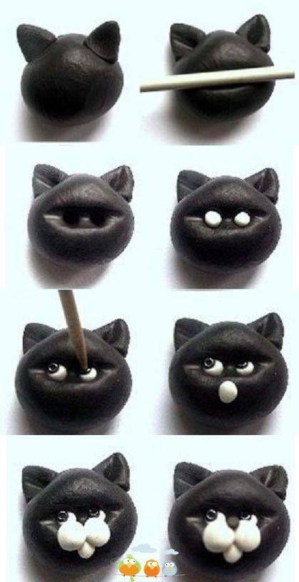 Hacer-un-gato-de-fimo