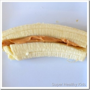 11 healthy summer pool snacks, including these banana boats. I think my