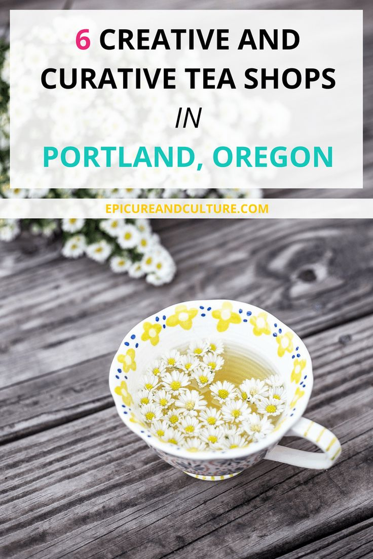 Food and drink in Oregon | Tea shops and cafes in Oregon | Things to do in Oregon