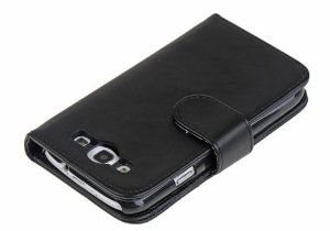 Grade PU leather wallet card about the flip mobile phone case for Samsung I9300