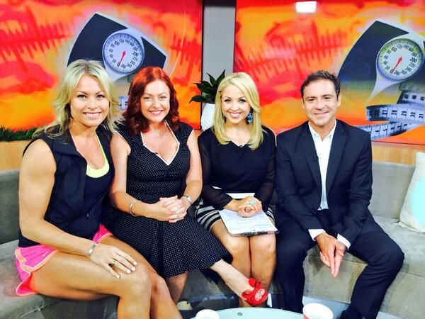 Shelly and Shannon on Sunrise.