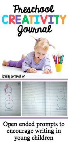 Open ended prompts to encourage writing in young children.