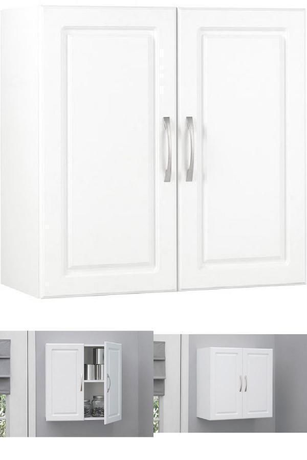 Icymi Wall Mount Storage Cabinet Kitchen Laundry Room Bathroom Unit White Cabinets 24 Laundry Room Bathroom Wall Mounted Storage Shelves Bathroom Units