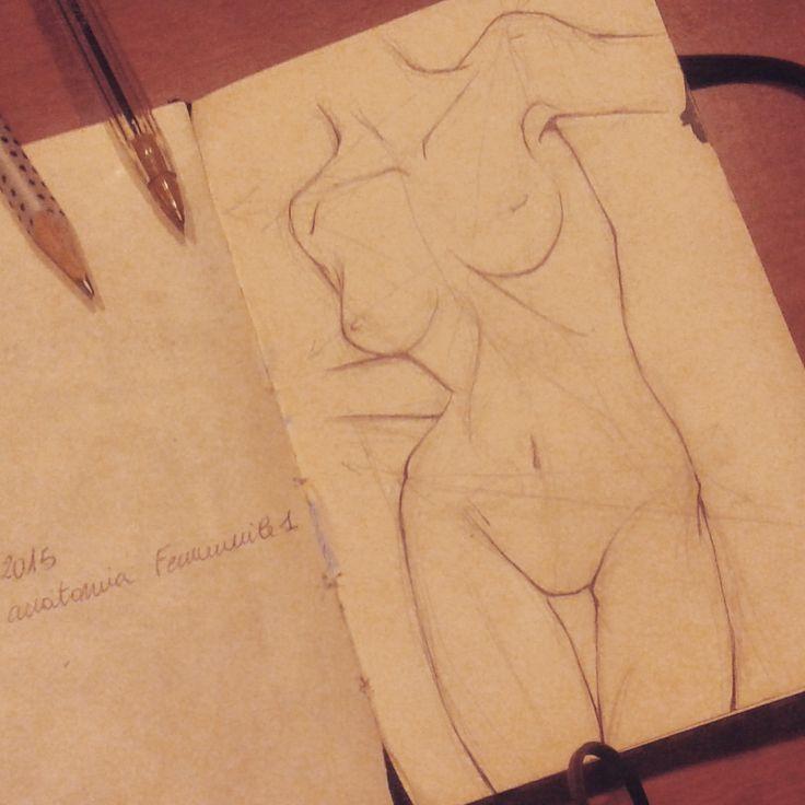 #woman #anatomy #study