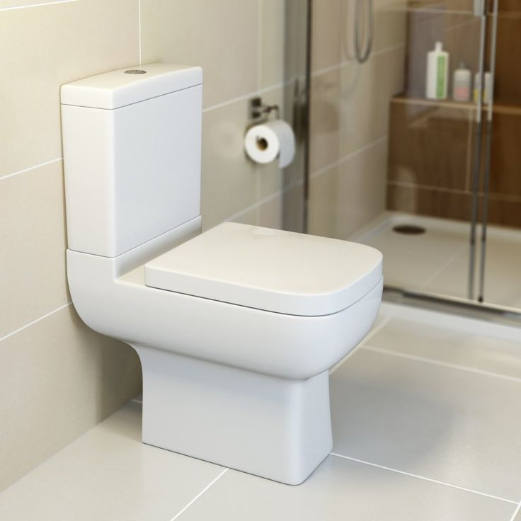 Amelie Space Saving Toilet. High end quality, internet price. In stock: Delivery Next Day. Paypal welcome. Plumbworld- The UK's e-commerce bathroom shop