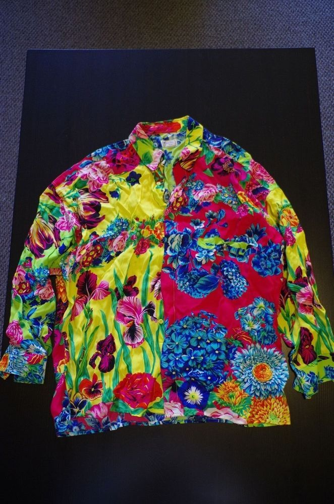 Versus by Gianni Versace Shirt/Blouse, Size: 36/50 or Medium. VERY RARE! #Versace #Blouse