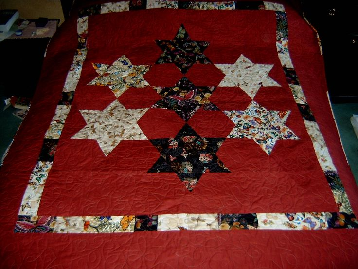 Seven sisters quilt