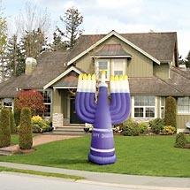 20 Best Outdoor Menorahs Images On Pinterest Hanukkah